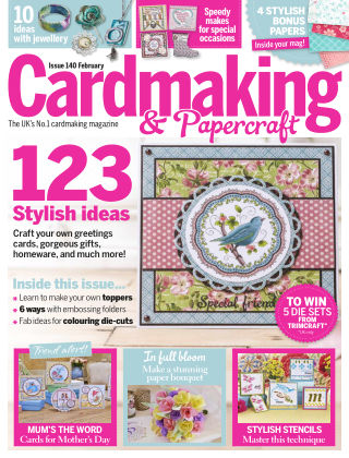 Cardmaking and Papercraft Feb 2015