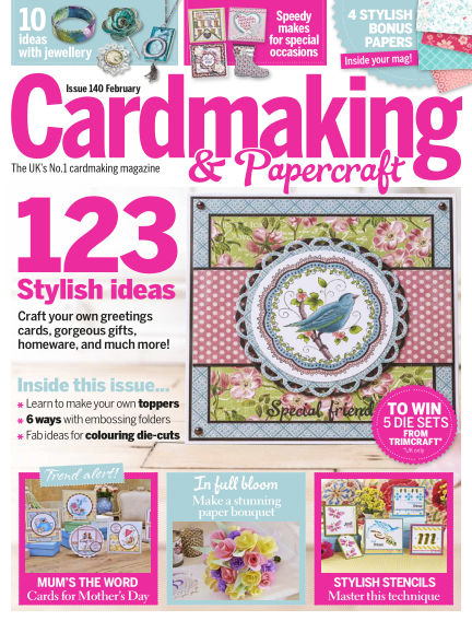 Cardmaking and Papercraft January 27, 2015 00:00