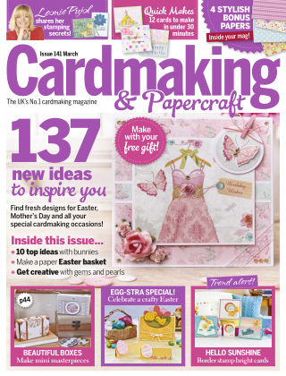 Cardmaking and Papercraft Mar 2015