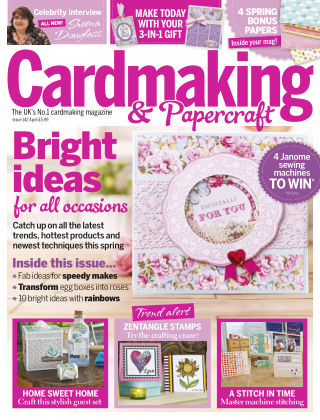 Cardmaking and Papercraft Apr 2015