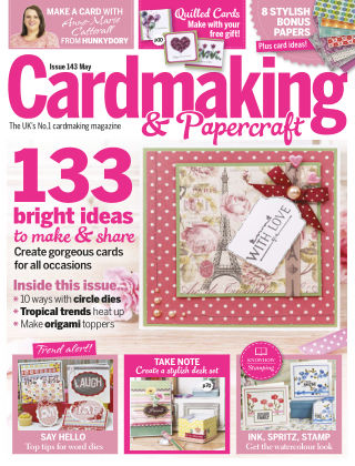 Cardmaking and Papercraft May 2015