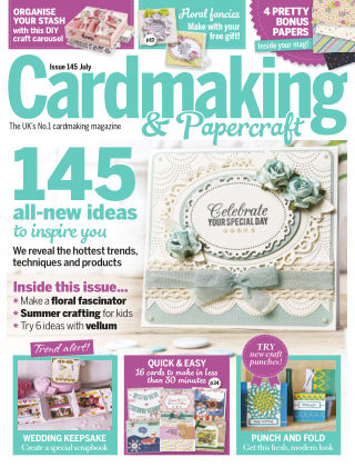 Cardmaking and Papercraft Jul 2015