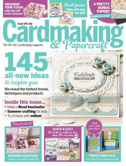 Cardmaking and Papercraft June 16, 2015 00:00