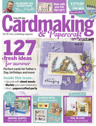 Cardmaking and Papercraft Jun 2015