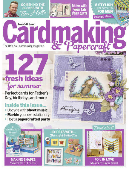 Cardmaking and Papercraft May 19, 2015 00:00