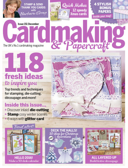Cardmaking and Papercraft November 26, 2015 00:00