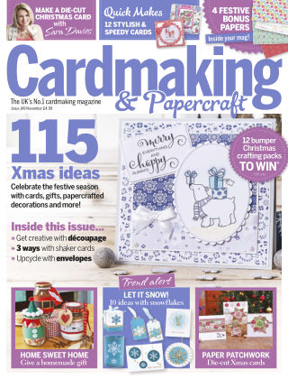Cardmaking and Papercraft Nov 2015