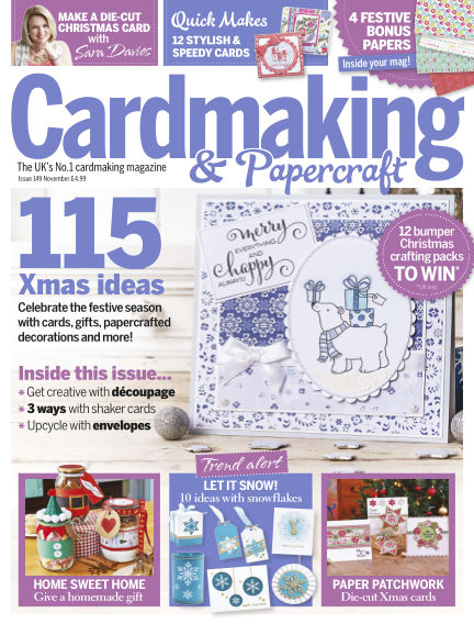 Cardmaking and Papercraft October 01, 2015 00:00