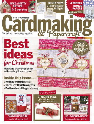 Cardmaking and Papercraft Xmas 2015