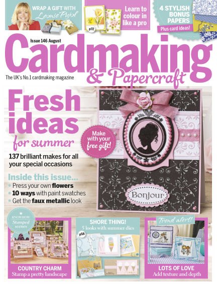 Cardmaking and Papercraft July 14, 2015 00:00