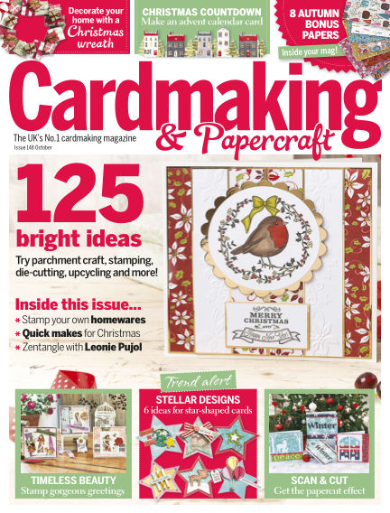 Cardmaking and Papercraft March 09, 2015 00:00