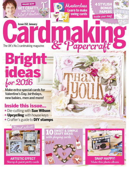 Cardmaking and Papercraft December 24, 2015 00:00