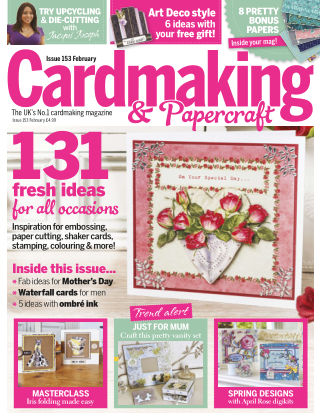 Cardmaking and Papercraft Feb 2016
