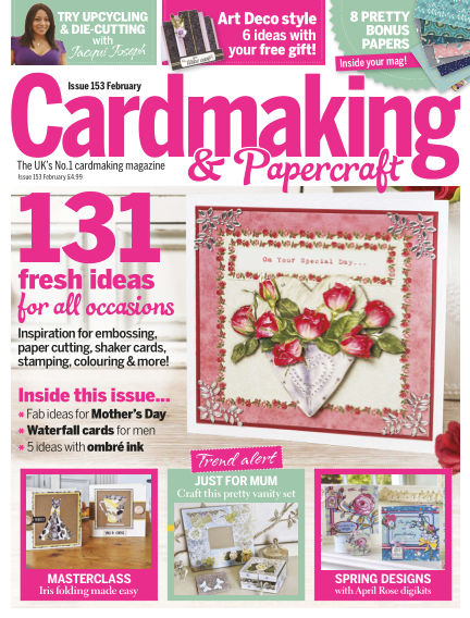 Cardmaking and Papercraft January 21, 2016 00:00