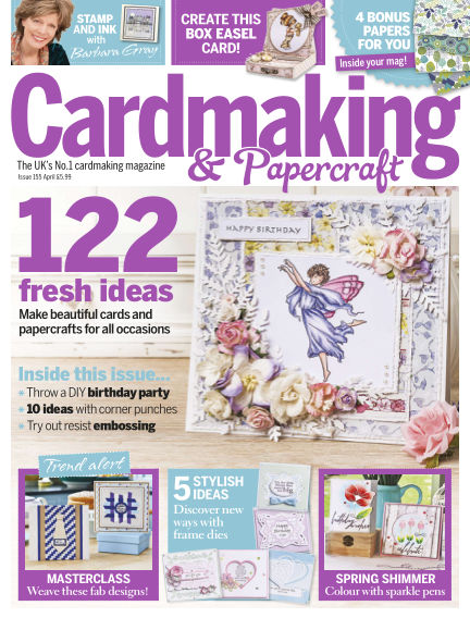 Cardmaking and Papercraft March 17, 2016 00:00