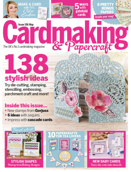 Cardmaking and Papercraft April 14, 2016 00:00