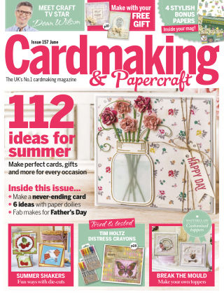 Cardmaking and Papercraft June 2016