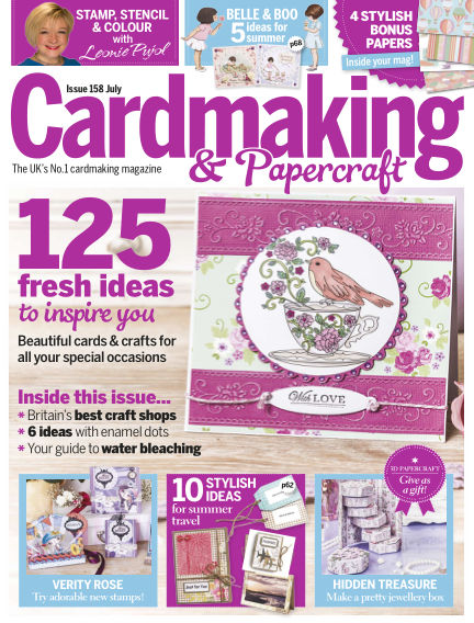 Cardmaking and Papercraft June 09, 2016 00:00