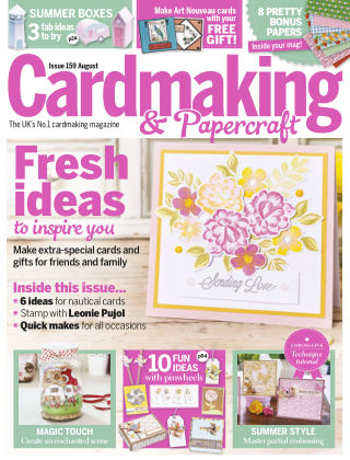 Cardmaking and Papercraft Aug 2016