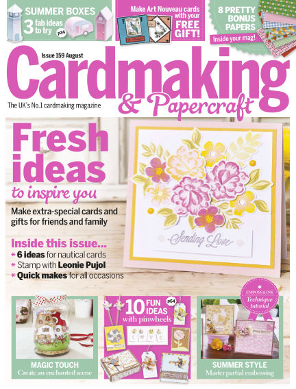 Cardmaking and Papercraft July 07, 2016 00:00