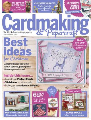 Cardmaking and Papercraft Nov 2016