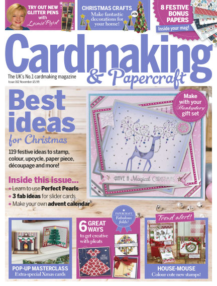 Cardmaking and Papercraft September 29, 2016 00:00