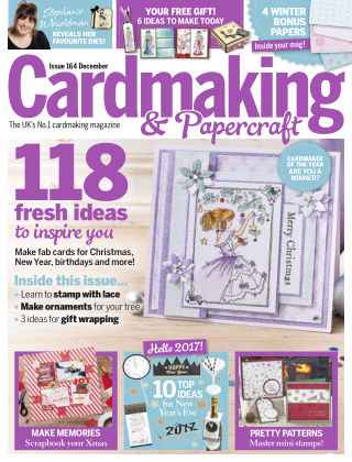 Cardmaking and Papercraft Dec 2016