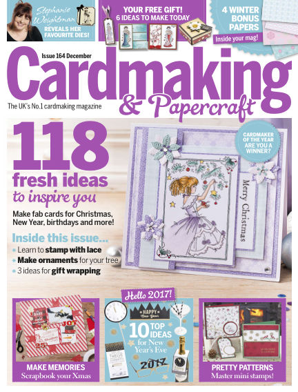Cardmaking and Papercraft November 24, 2016 00:00