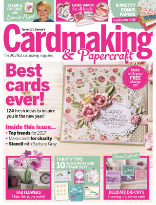 Cardmaking and Papercraft Jan 2017