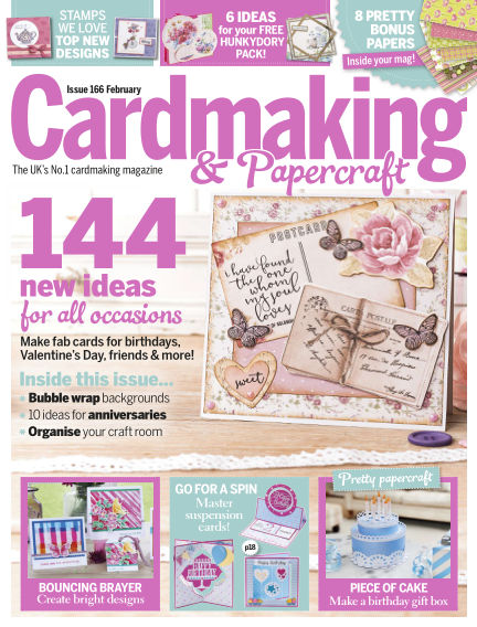 Cardmaking and Papercraft January 19, 2017 00:00