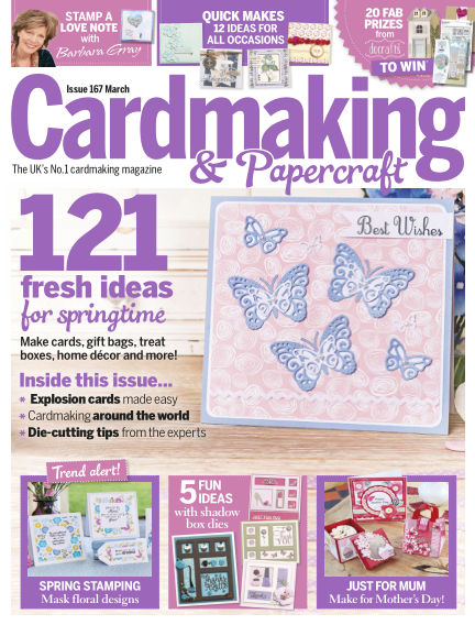Cardmaking and Papercraft February 16, 2017 00:00