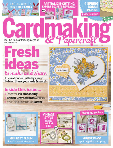 Cardmaking and Papercraft March 16, 2017 00:00