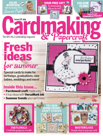 Cardmaking and Papercraft June 08, 2017 00:00