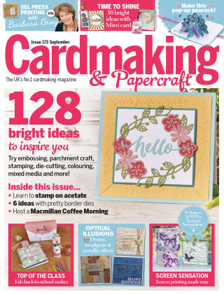 Cardmaking and Papercraft September 2017