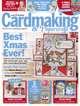 Cardmaking and Papercraft November 2017
