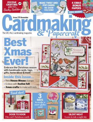 Cardmaking and Papercraft November 2017