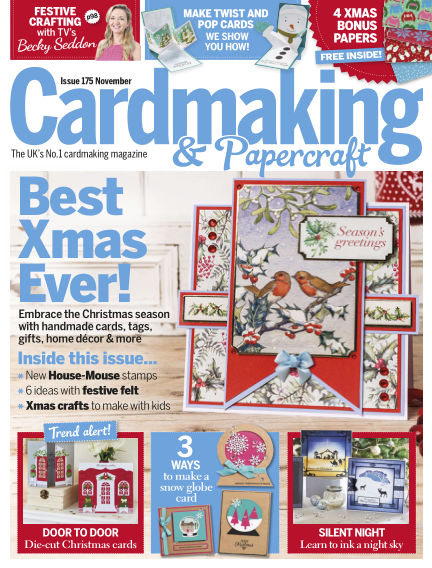 Cardmaking and Papercraft October 03, 2017 00:00