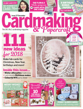 Cardmaking and Papercraft December 2017