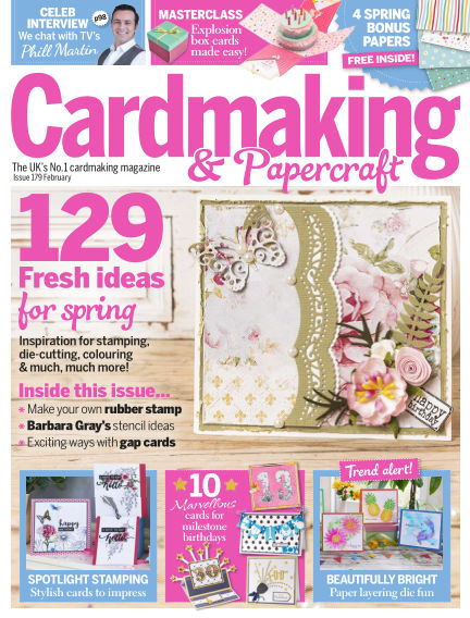 Cardmaking and Papercraft January 16, 2018 00:00