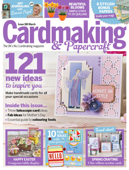 Cardmaking and Papercraft February 13, 2018 00:00
