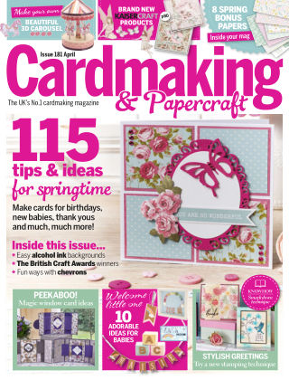 Cardmaking and Papercraft April 2018