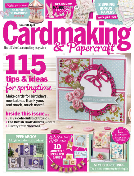 Cardmaking and Papercraft March 15, 2018 00:00