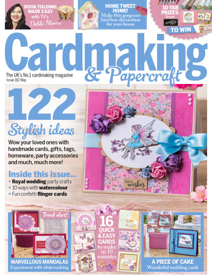 Cardmaking and Papercraft April 12, 2018 00:00