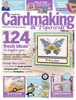 Cardmaking and Papercraft June 2018