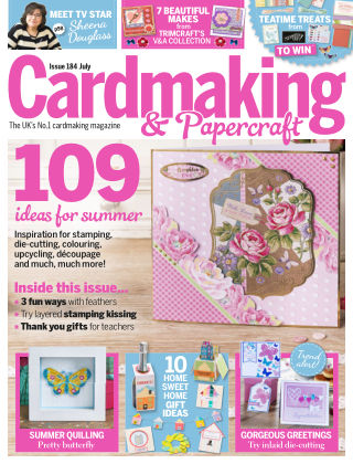Cardmaking and Papercraft July 2018