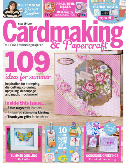 Cardmaking and Papercraft June 07, 2018 00:00