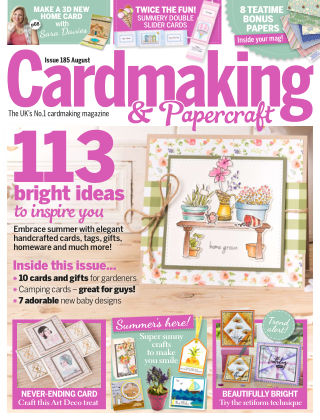 Cardmaking and Papercraft August 2018