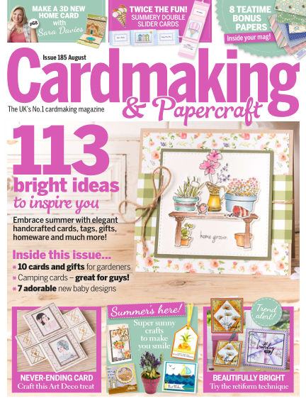 Cardmaking and Papercraft July 05, 2018 00:00