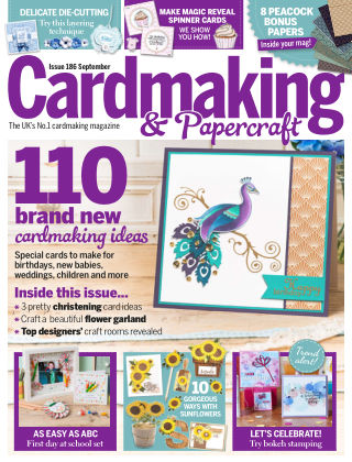 Cardmaking and Papercraft September 2018
