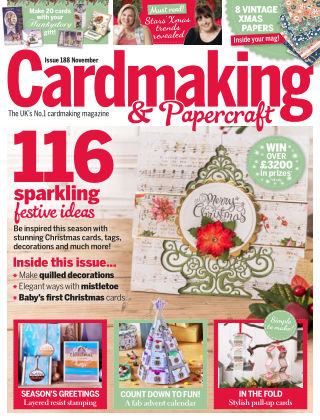 Cardmaking and Papercraft November2018